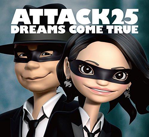 DREAMS COME TRUE、デビュー25周年のアルバム「ATTACK25」