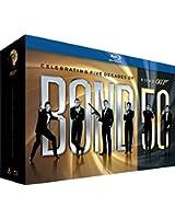 James Bond 007 - Bond 50: Intégrale 50ème Anniversaire des 22 films [Coffret Blu-ray]