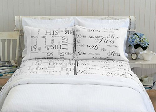 Bed Hog His & Hers Sheet Set - Queen (Comforter His Side Her Side compare prices)