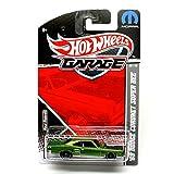 '69 Dodge Coronet Super Bee (Metallic Green) * 2011 Hot Wheels Garage * 1:64 Scale Die-Cast Vehicle (Mopar 03/15)