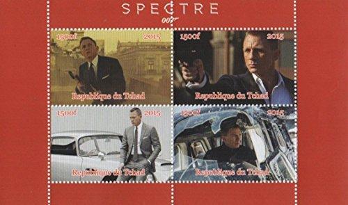 timbres-pour-collectionneurs-james-bond-007-spectre-daniel-craig-mnh-sheet-tchad-miniature-2015