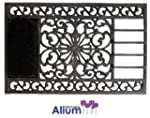 Alium Buckingham Cast Iron Door Mat W...
