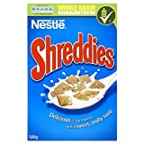 Shreddies Ready-to-Eat Breakfast Cereal 500 g (Pack of 5)