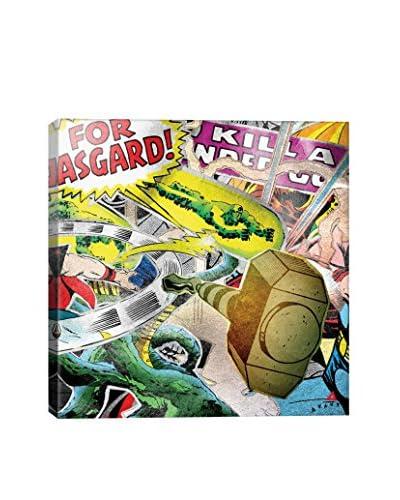 Marvel Comics Gallery Thor Super Collage Canvas Print