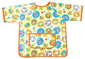AM PM Kids! Paint Smock, Zoo Animals