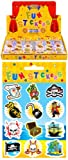 6 Sheets of Pirate Stickers ideal for Party Bag Fillers - Party Gifts