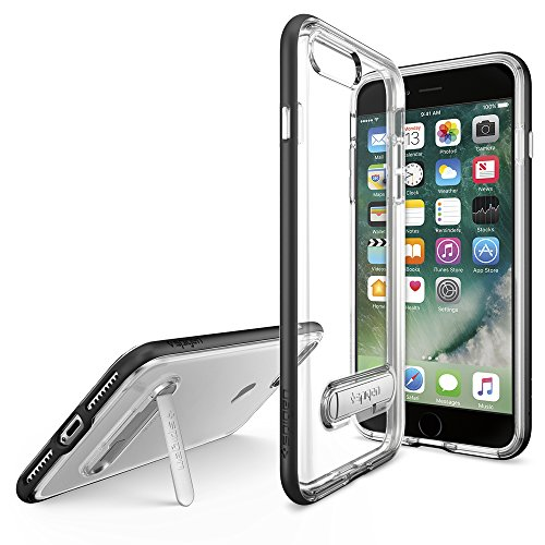 iPhone-7-Plus-Case-Spigen-Crystal-Hybrid-Metal-Kickstand-Black-Clear-TPU-PC-Frame-Slim-Dual-Layer-Premium-Case-for-iPhone-7-Plus-043CS20680