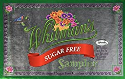 Whitman\'s Sampler Assorted Sugar Free Candies 10 oz