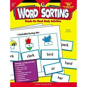 Word Sorting, Gr. K-2