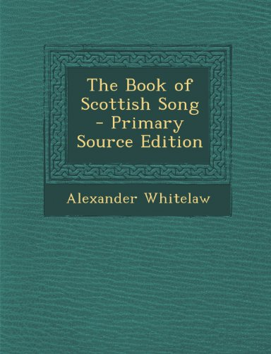 The Book of Scottish Song