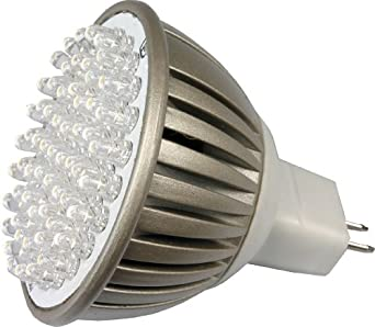 LED MR16 Spotlight 12V 3.8W (320 Lumen - 35 Watt Equivalent) Halogen Replacement Bulb 4000K Cool