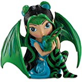Jasmine Becket-Griffith Fairy and Baby Dragon Figurine: Aqua by The Hamilton Collection