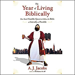 The Year of Living Biblically Audiobook