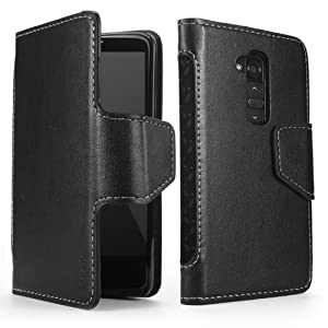 Poetic Slimbook Case for LG G2 Black (All Carriers except Verizon) (3 Year Manufacturer Warranty From Poetic)