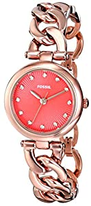 Fossil Women's ES3581 Analog Display Analog Quartz Gold Watch