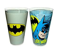 DC Comics 20 oz Acrylic Cup Set-2 Piece (Batman)