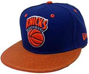 NEW ERA 9FIFTY B-BALL VIZA NEW YORK KNICKS BLUE & ORANGE STRAPBACK by New Era
