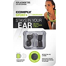 COMPLY - Sport Plus Universal - Earphone Tips Suitable for All Earphones