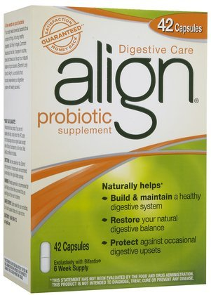 Align Digestive Care Probiotic Supplement Caps, 42 ct