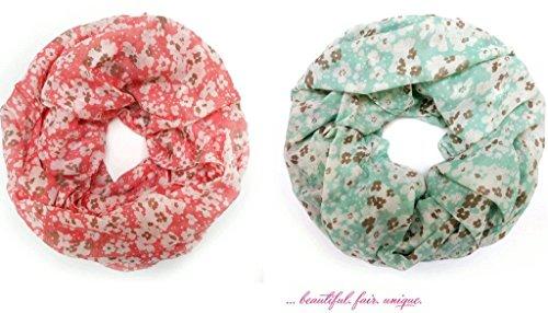 accessu-Echarpe-Foulard-pour-Femme-Millefleure-Design-Floral-Print