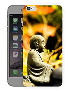 """Humor Gang Buddha - The Name For Calm Printed Designer Mobile Back Cover For """"Apple Iphone 6 Plus - 6s Plus"""" (3D, Matte, Premium Quality Snap On Case)"""