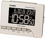 CASIO (カシオ) 目覚し時計 デジタル 電波時計 温度表示 DQD-80J-7BJF