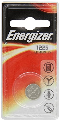 ENERGIZER Lot de 10 Blisters de 1 Pile Lithium CR 1225