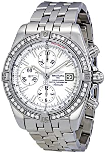 Breitling Men's A1335653/A569 Chronomat Evolution Diamond Bezel Watch