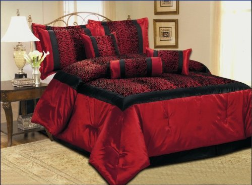 Very Cheap Bedspreads And Comforter Sets discount: 7 Piece Faux ...