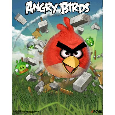 Angry Birds 3-D Lenticular Video Game Poster Print - 11x14