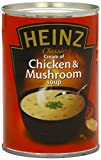 Heinz Classic Cream of Chicken and Mushroom Soup 400 g (Pack of 24)