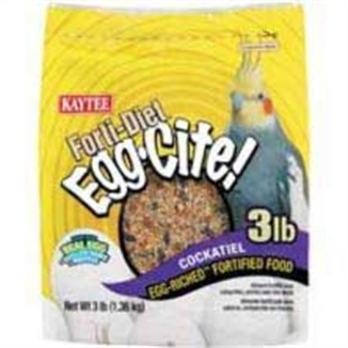 Cheap Kaytee Forti Diet Egg-Cite Food for Cockatiels, 5-Pound Bag (B000HHQGYA)
