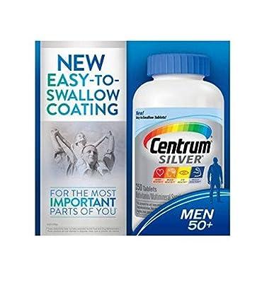 Centrum Silver Men 50+ Multivitamin Multimineral Supplement 570 Tablets Centrum-zs