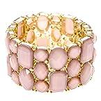 Blush Stones Bracelet