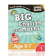 Bright Sparks Key Stage 1 Big English & Maths Workbook