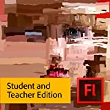 Adobe Flash Pro CS6 Student and Teacher Edition [Download]