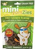 Nootie Mini Yumzies Grain Free Barbecue Chicken Flavor Natural Treats, Half Pound
