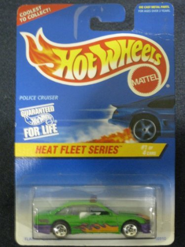 Hotwheels Police Cruiser-Heat Fleet Series #1 of 4 #537 - 1