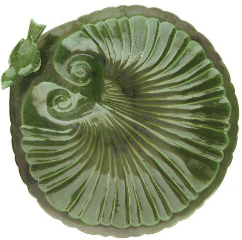 Cheap Achla BBC18 Verdant Ceramic Shell Bird Bath and Stake Set (BBC-18)