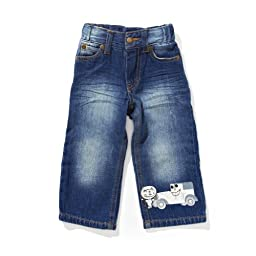 Boys Washed Demin Jeans - size 18M