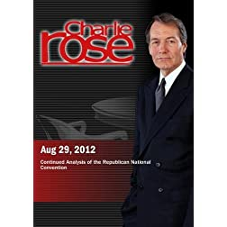 Charlie Rose - Continued Analysis of the Republican National Convention (August 29, 2012)