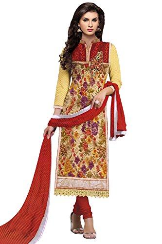 Trendz-Womens-Brasso-Net-Semi-Stitched-Dress-Material-TDMumtazRedFree-SizeMulti