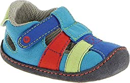 Stride Rite Crawl Catch Of The Day Sandal (Infant/Toddler),Multi,3 M US Infant