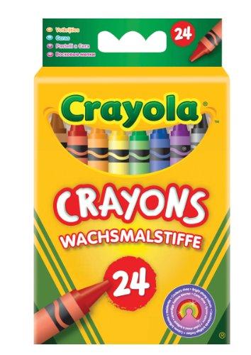 Crayola 02.0024 - 24 Wachsmalstifte