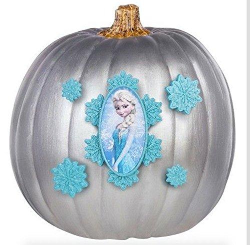 Disney Elsa Push-In Pumpkin Decorating Kit