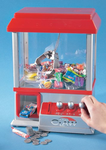 """The Claw"" Electronic Candy Grabber Machine Arcade Game"