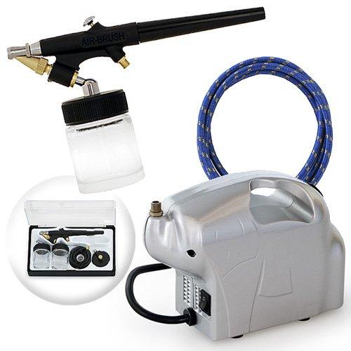 Multi-purpose Single-action Airbrush Set - Elephant Compressor Kit
