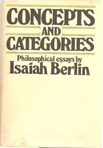 Concepts and Categories: 2 (His Selected writings)