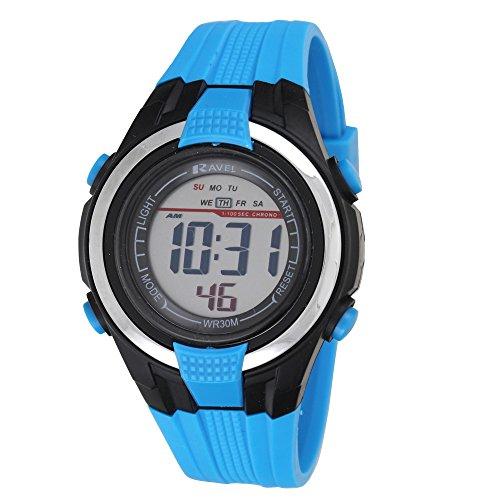 ravel-lcd-digital-water-resistant-sports-boys-digital-watch-with-black-dial-digital-display-and-blue