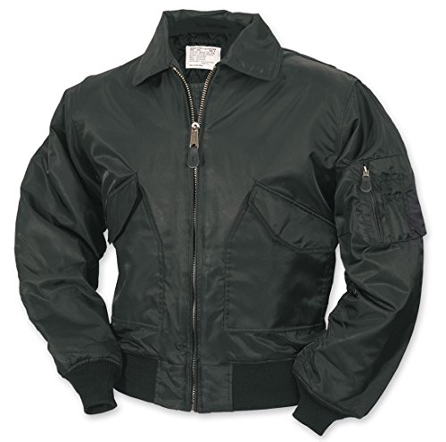surplus-ma2-cwu-volo-giacca-da-uomo-bomber-us-airforce-pilota-motociclista-sicurezza-wear-black-l